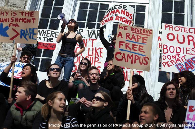 Campus Sexual Assault Protest
