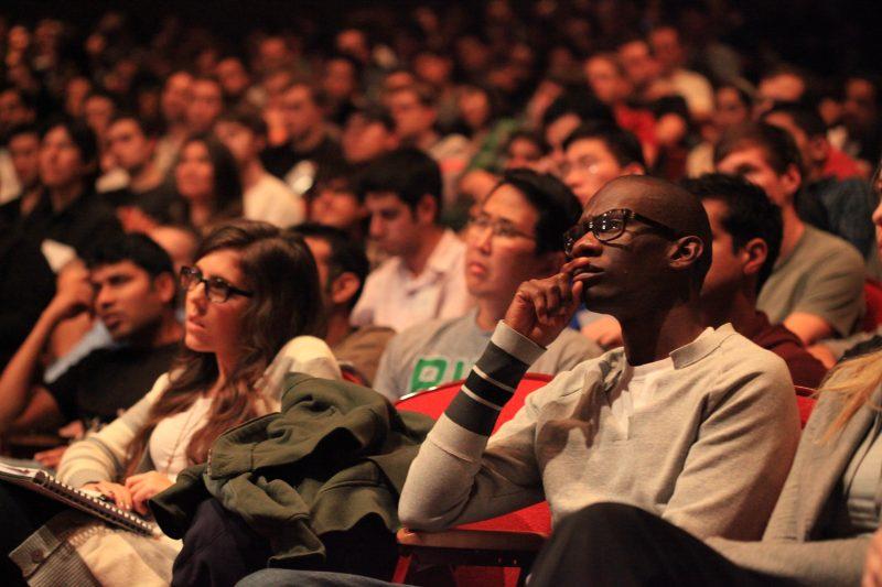 Audience at Screening