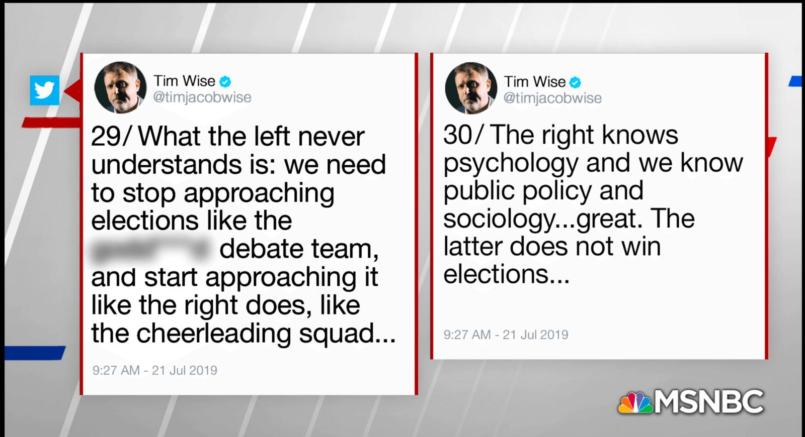 Tim Wise Viral Tweet