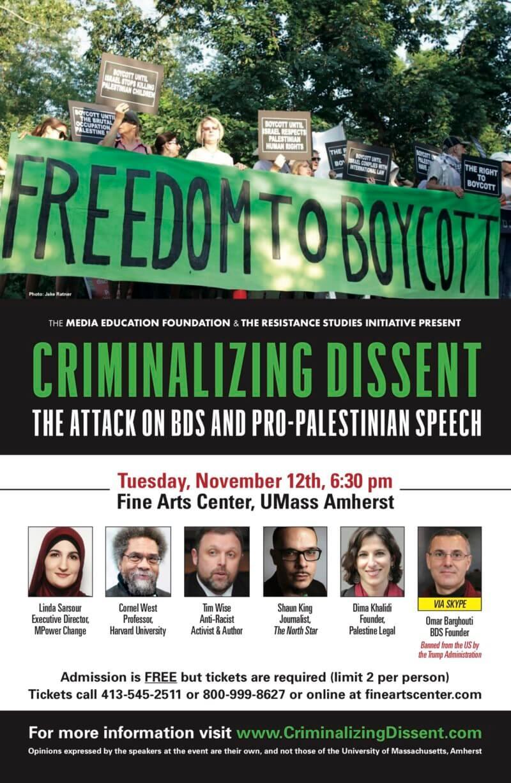 Criminalizing Dissent Poster